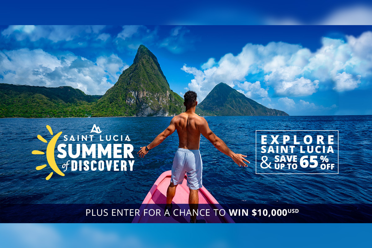 Saint Lucia 'Summer of Discovery' program offers hotel discounts of up to 65% off
