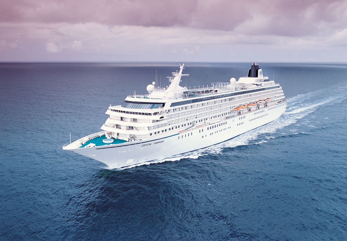 Crystal Symphony & Crystal Serenity add dozens of new sailings