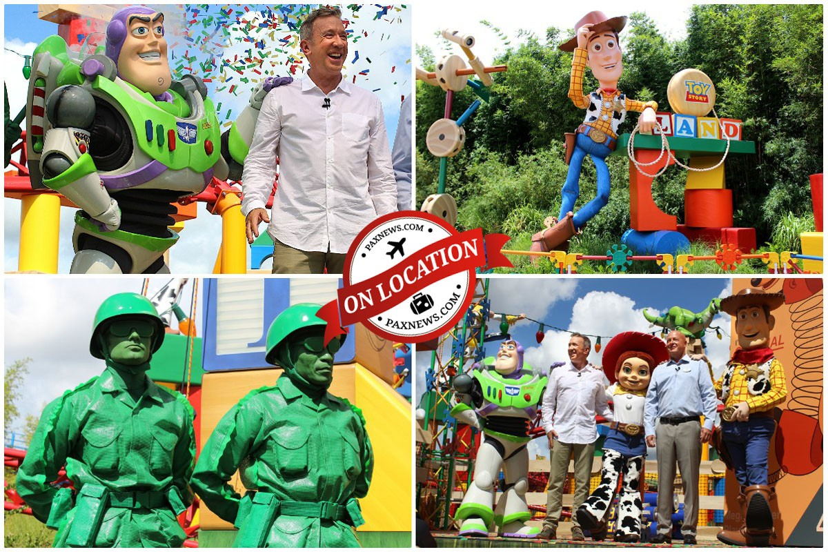 PAX plays big at Walt Disney World's new Toy Story Land in Orlando