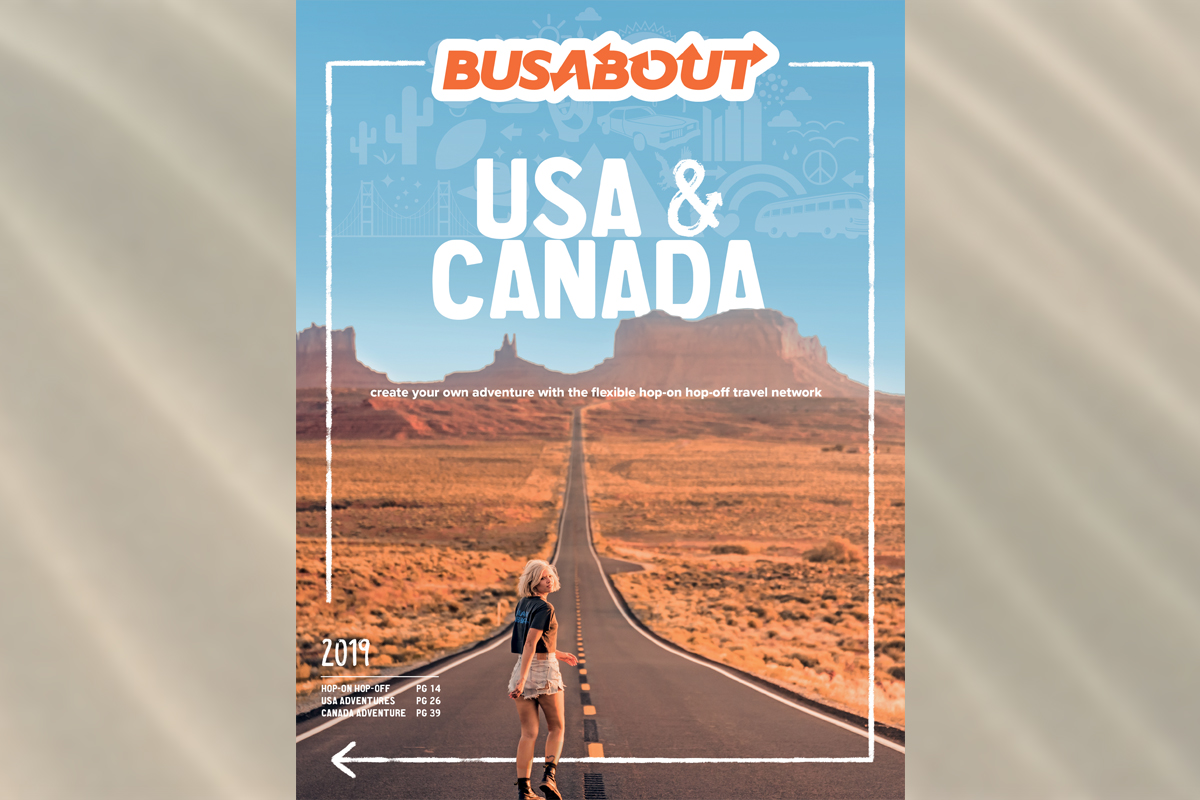 Busabout brings hop-on, hop-off travel to Canada with new 2019 brochure