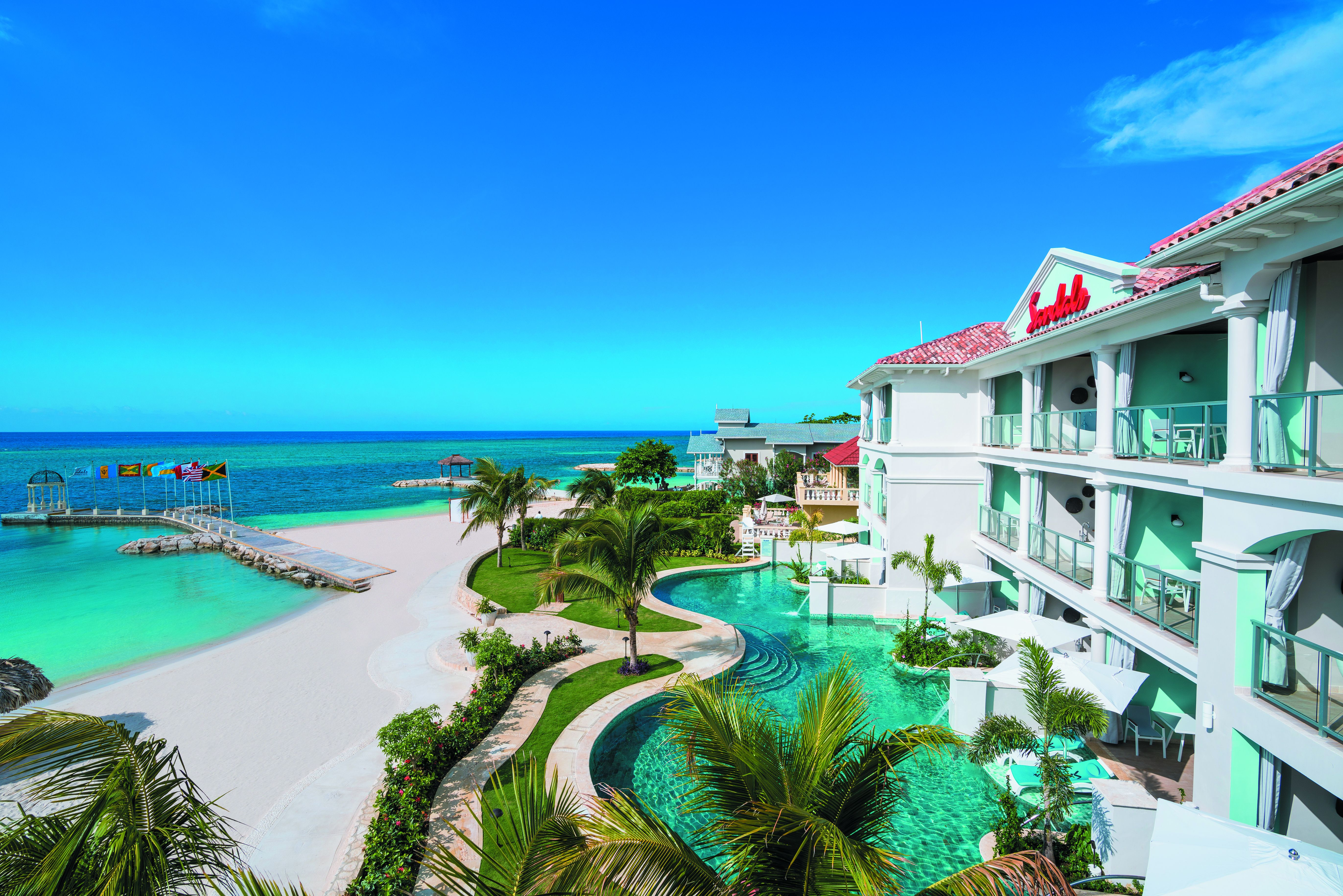 Sandals shows off recently renovated Sandals Montego Bay