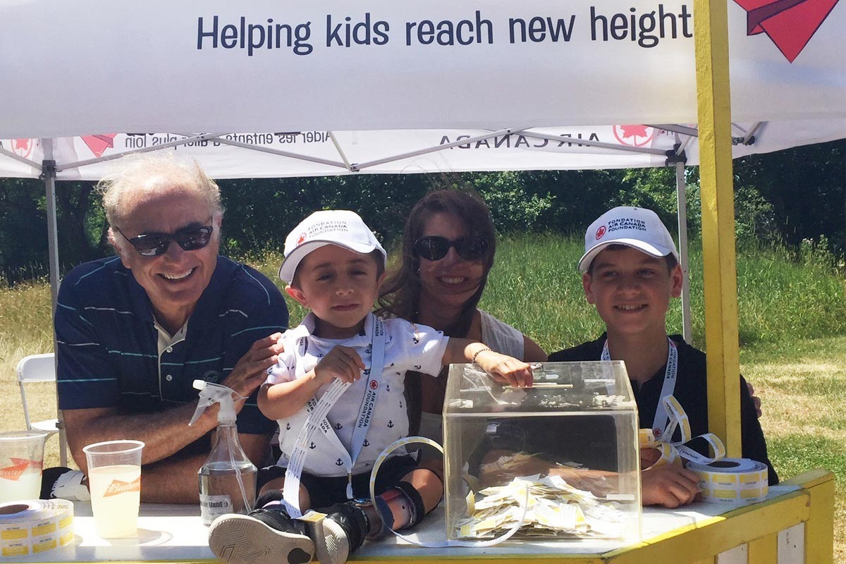 Air Canada Foundation brings in $1M+ for Canadian kids