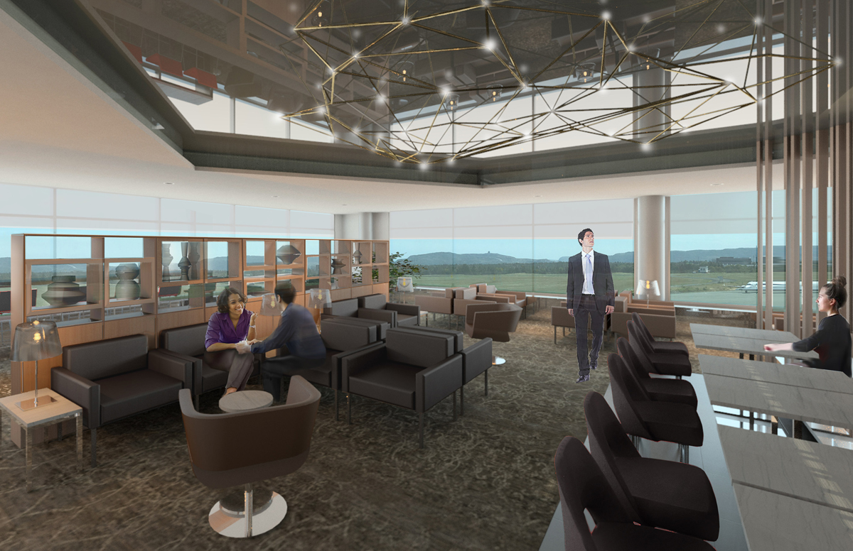 Air Canada's Maple Leaf Lounge at YYT gets an upgrade