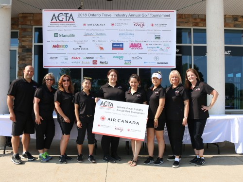More than 150 tee off at ACTA's 30th annual golf tournament