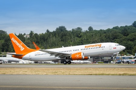 Sunwing expands Mexico routes from Victoria this winter