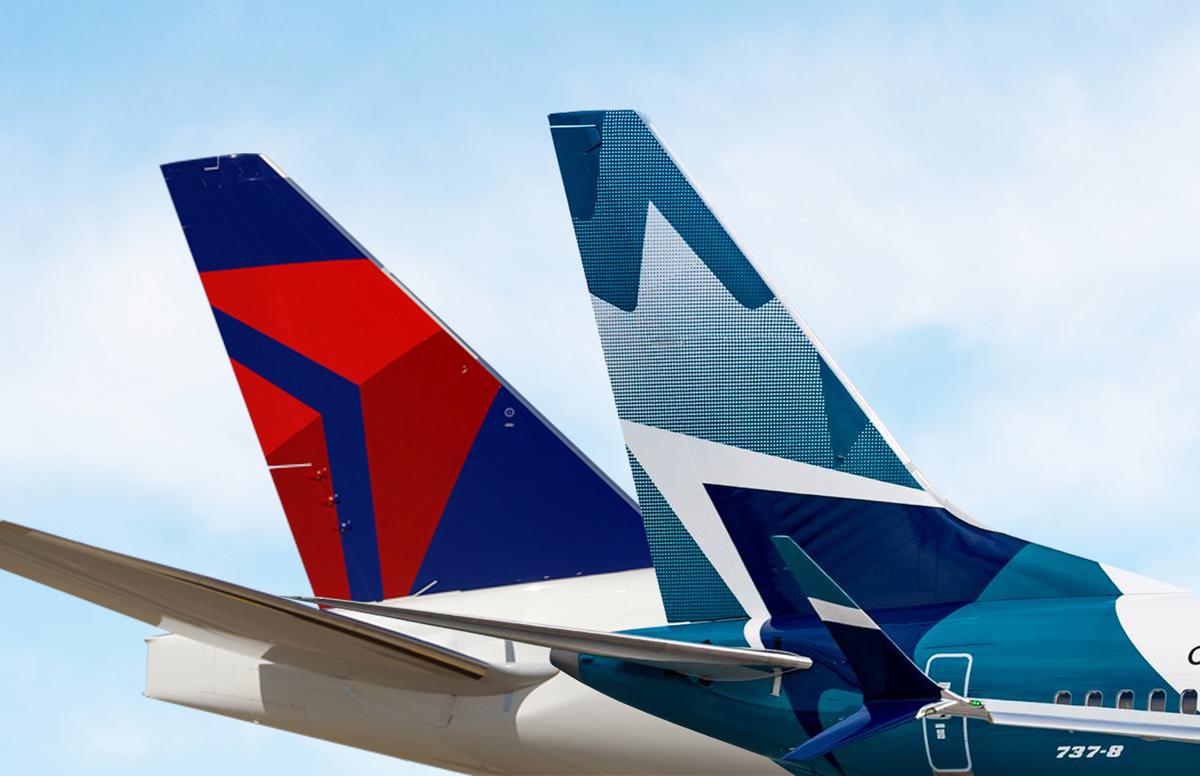 WestJet & Delta sign joint venture