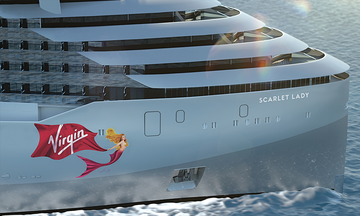 And the name of the first Virgin Voyages ship is…