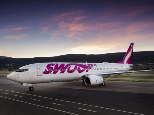 Swoop kicks off the season with YXX-YWG flight