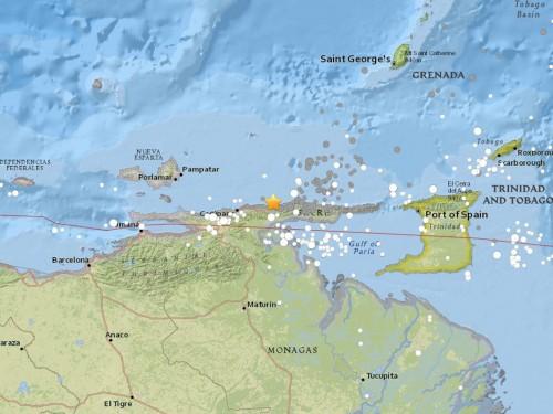 Venezuela quake felt in Caribbean, Colombia