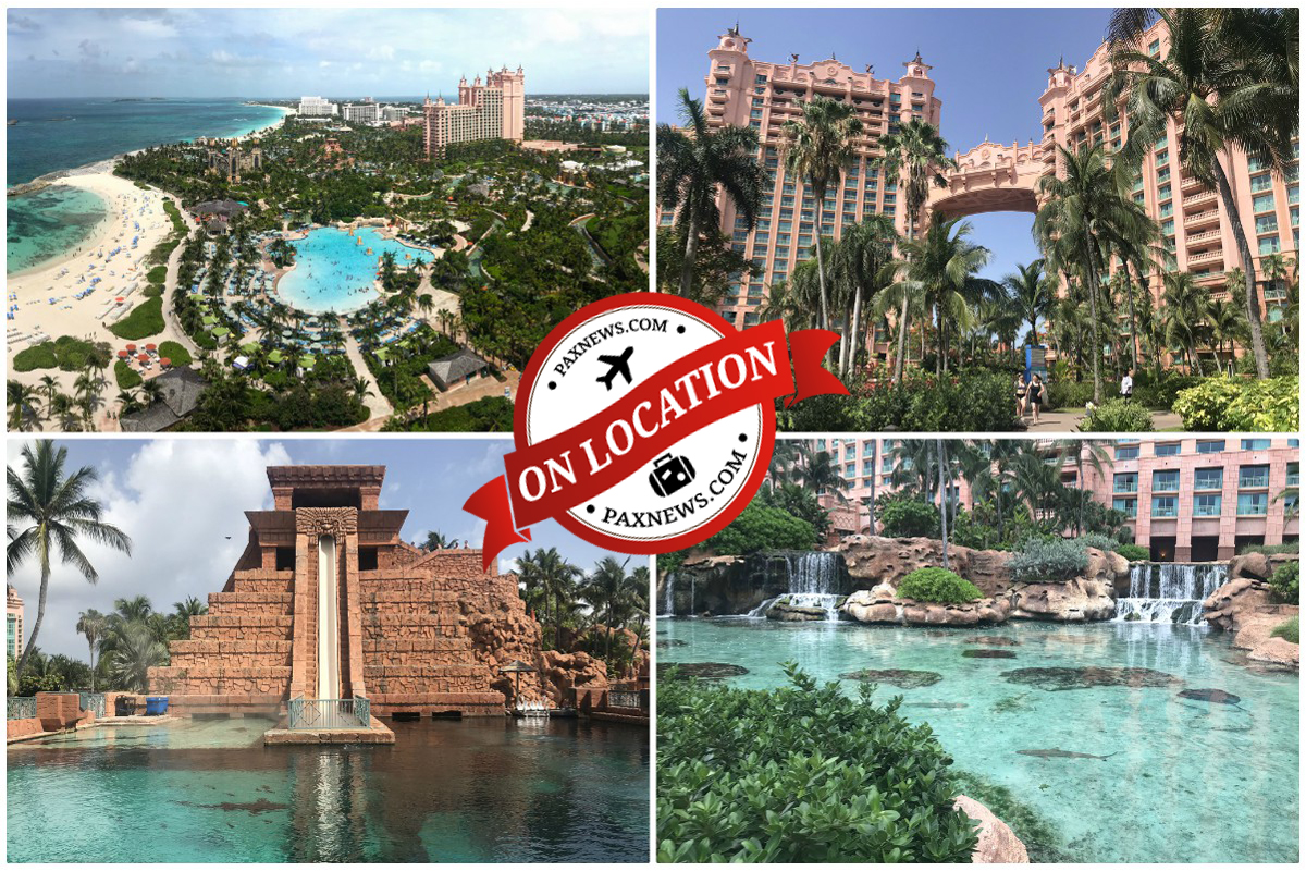 Discover the aquatic wonderland of Atlantis Paradise Island; Scenic's Airbus H130 helicopters are arriving this week