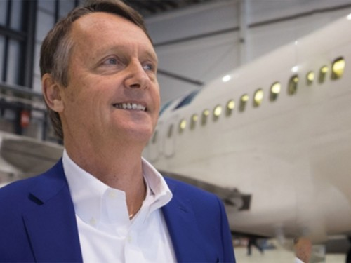 WestJet's VP of Sales, Lyell Farquharson, leaves company
