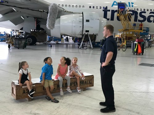 Transat's new web series lets kids explore aviation up close