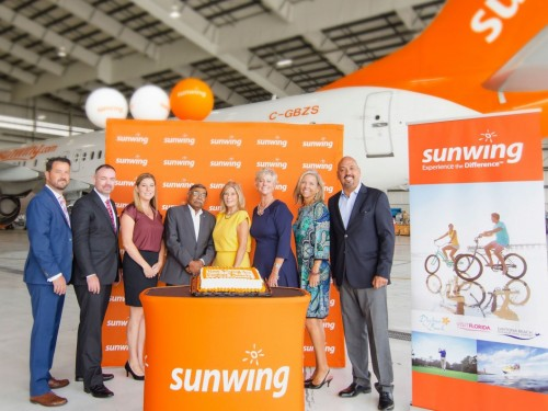 Sunwing launches exclusive flight to Daytona Beach
