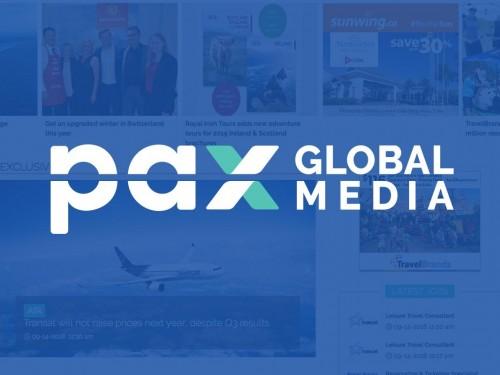 LogiMonde media rebrands as PAX Global Media Inc.