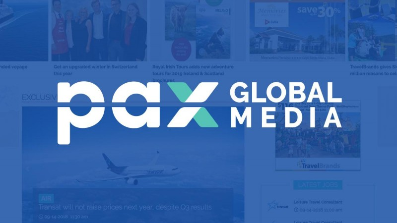 LogiMonde media rebrands as PAX Global Media Inc.