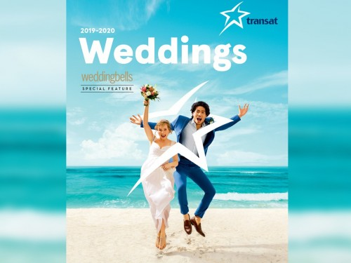 Transat's new Wedding brochure has exclusive content by Weddingbells