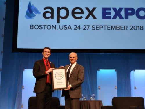 Air Canada's CEO wins Lifetime Achievement Award from APEX