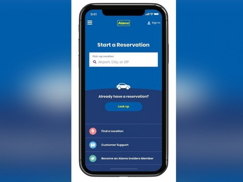 Alamo Rent A Car releases new mobile app