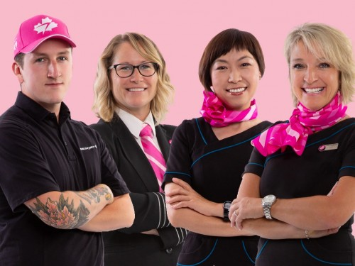 WestJet has raised more than $441,000 for the Canadian Cancer Society