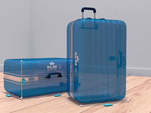 KLM's augmented reality baggage check now available on Messenger
