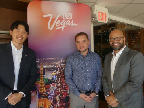Canadian visitors betting on Las Vegas