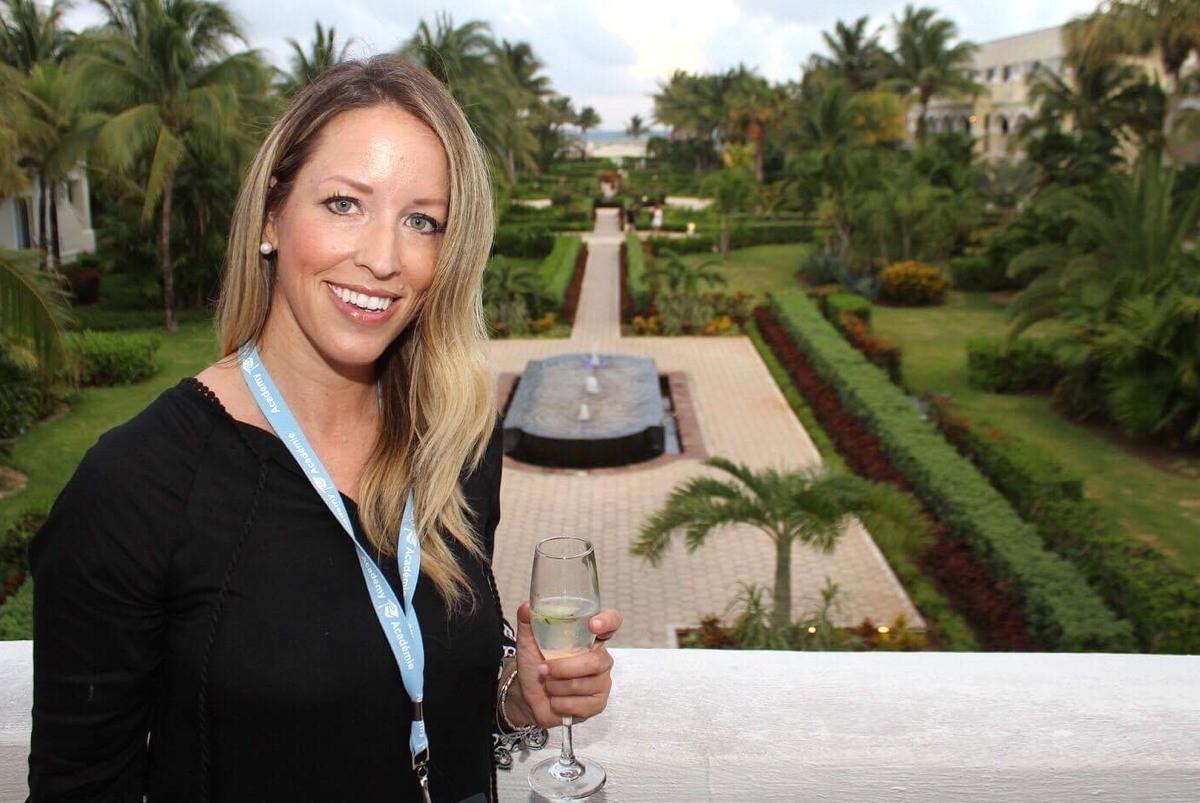 PAX checks in with Marlin Travel's Leanne Mckercher