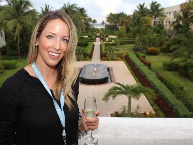 PAX checks in with Marlin Travel's Leanne Mckercher
