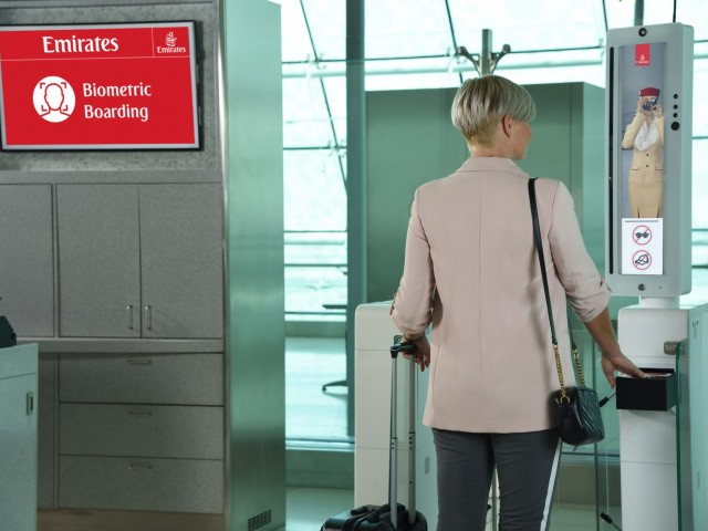 Emirates passengers can soon check in for flights using facial & iris recognition