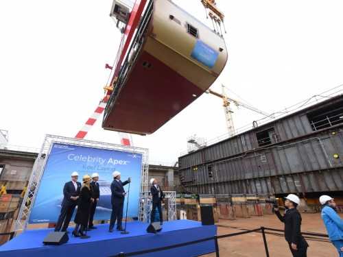 Celebrity takes delivery of Celebrity Edge