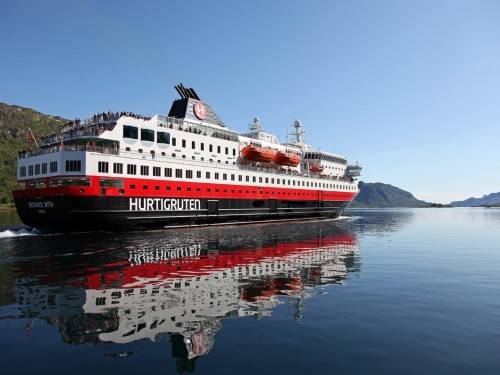 Hurtigruten's MS Richard With to receive major upgrades