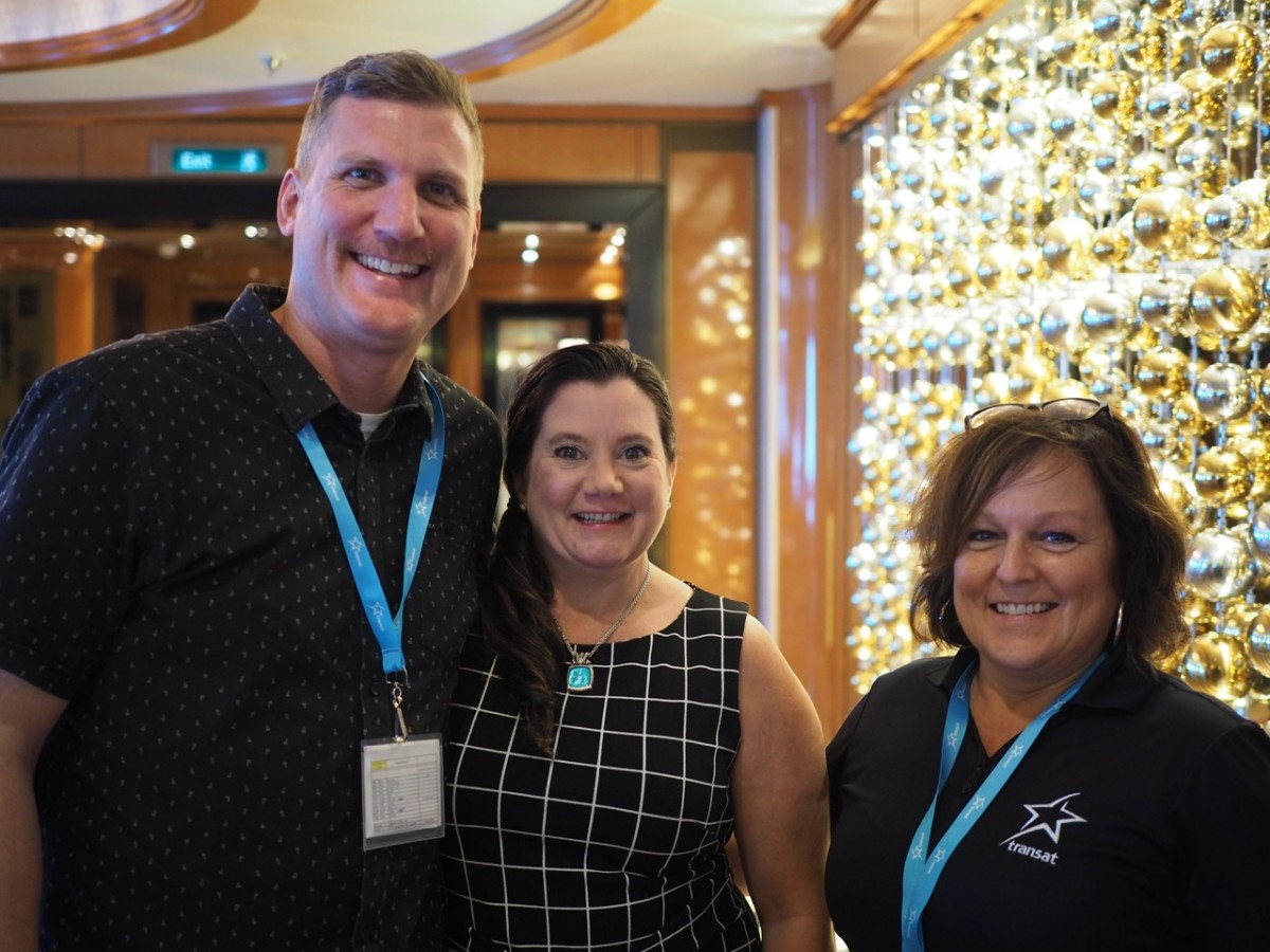 Transat's Surf & Turf seminar: cruise as a turn-key product