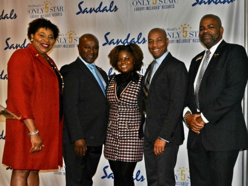 Sandals applauds top-selling agents at exclusive dinner