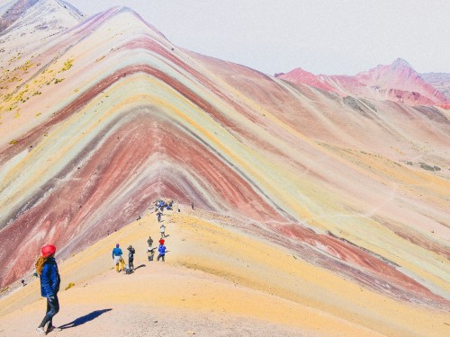 Mining halted on Peru's Rainbow Mountain