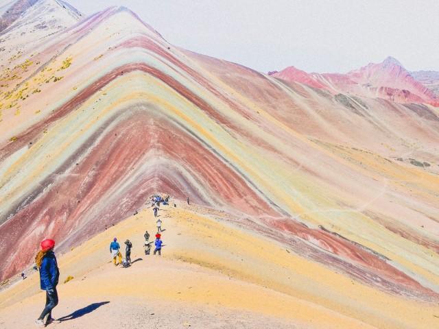 Mining halted on Peru's Rainbow Mountain