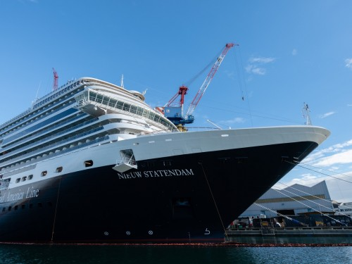 HAL takes delivery of its 15th ship, the Nieuw Statendam
