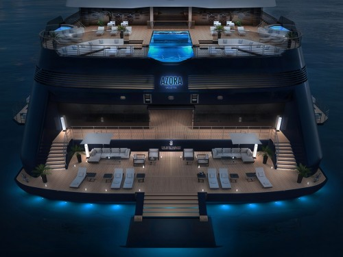 And the name of Ritz-Carlton's first yacht is...