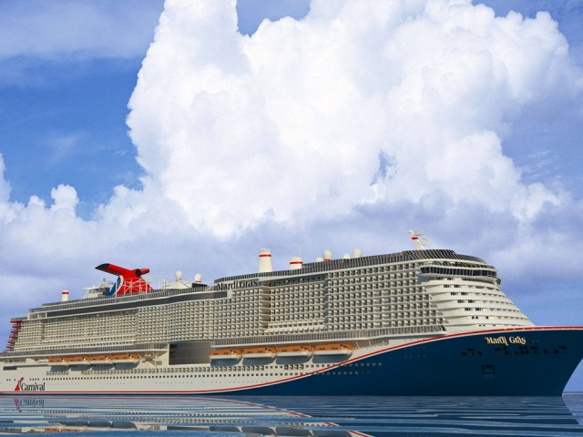 Carnival's newest ship has a name