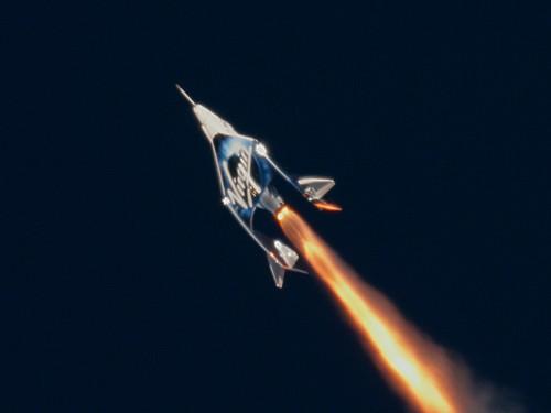 The final frontier: Virgin Galactic makes successful spaceflight