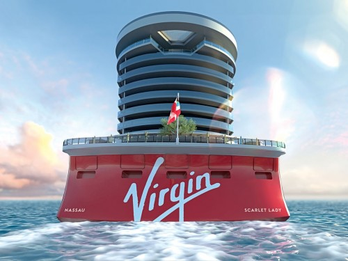 Virgin Voyages inviting First Mates to have tea at sea with Sir Richard Branson