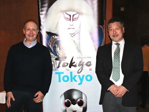 TMAC members talk Tokyo with a sake samurai