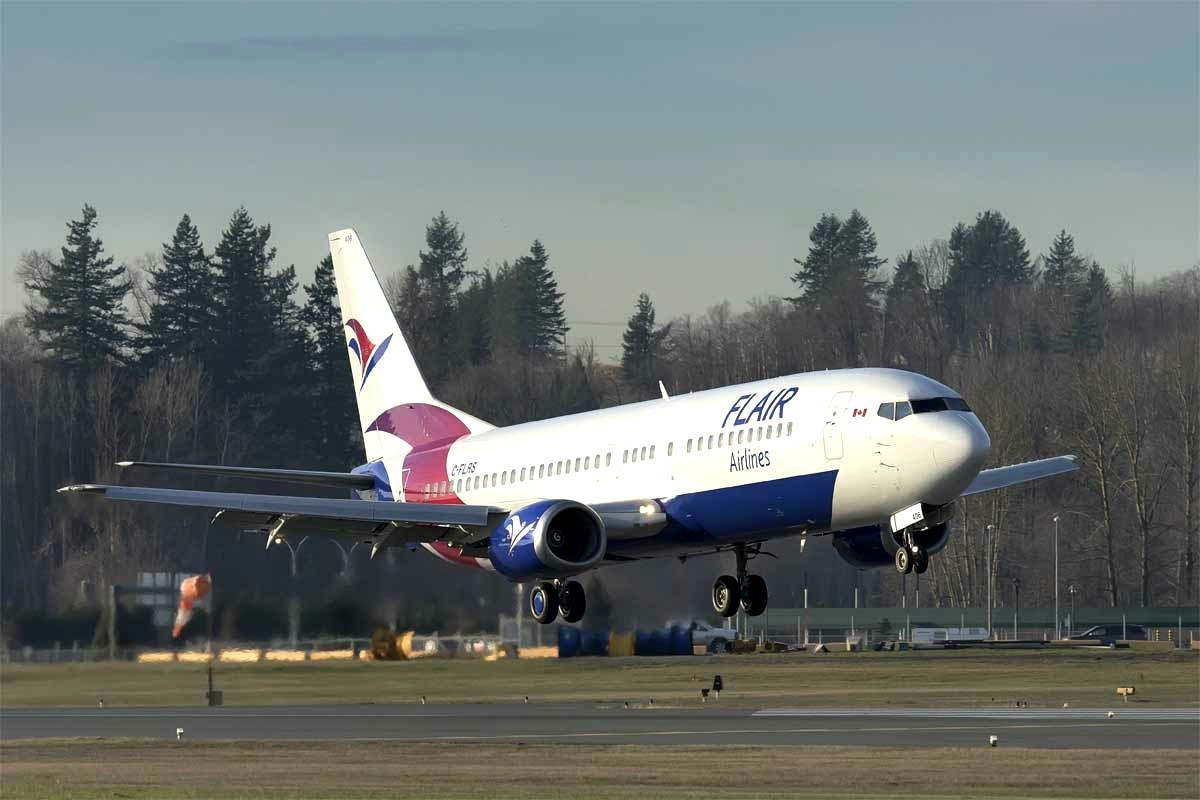 Flair offering agents a free round-trip flight