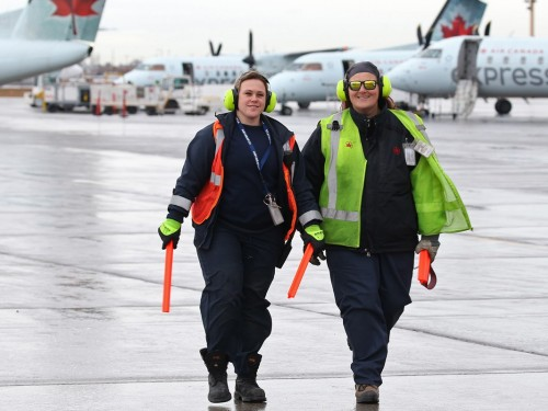 How Air Canada gets you there safely, even in a storm