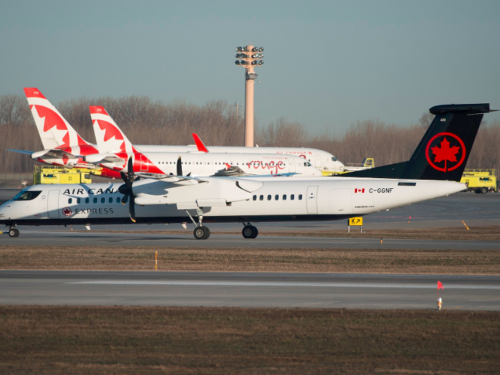 Air Canada: enhanced service on regional Eastern & Western routes