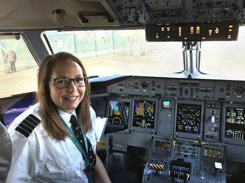 Women of Aviation Week: WestJet's Athenia Jansen
