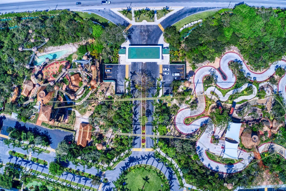 Barceló Maya Grand Resort opens first-ever adventure park in Riviera Maya