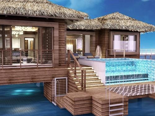 PHOTOS: New Royalton Antigua features exclusive overwater bungalows