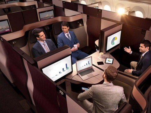EXCLUSIVE: PAX tests Qatar Airways' new QSuite