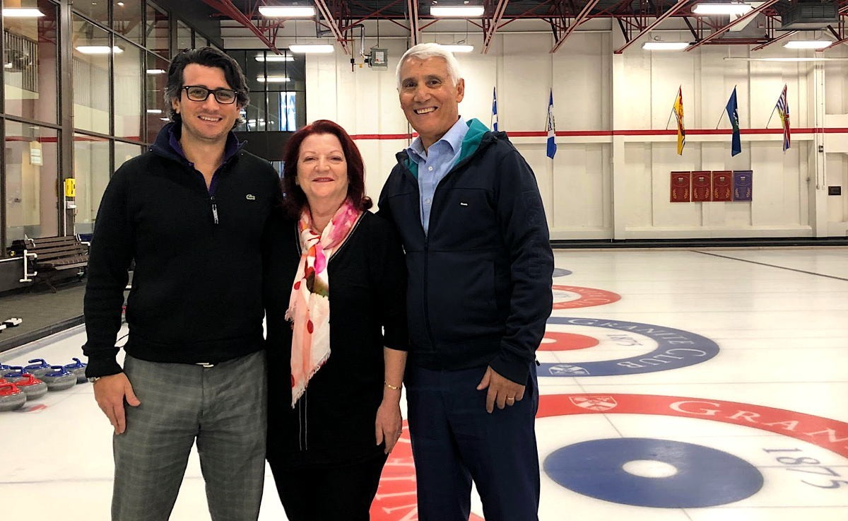 Game of stones: TravelOnly hosts curling match to thank partners