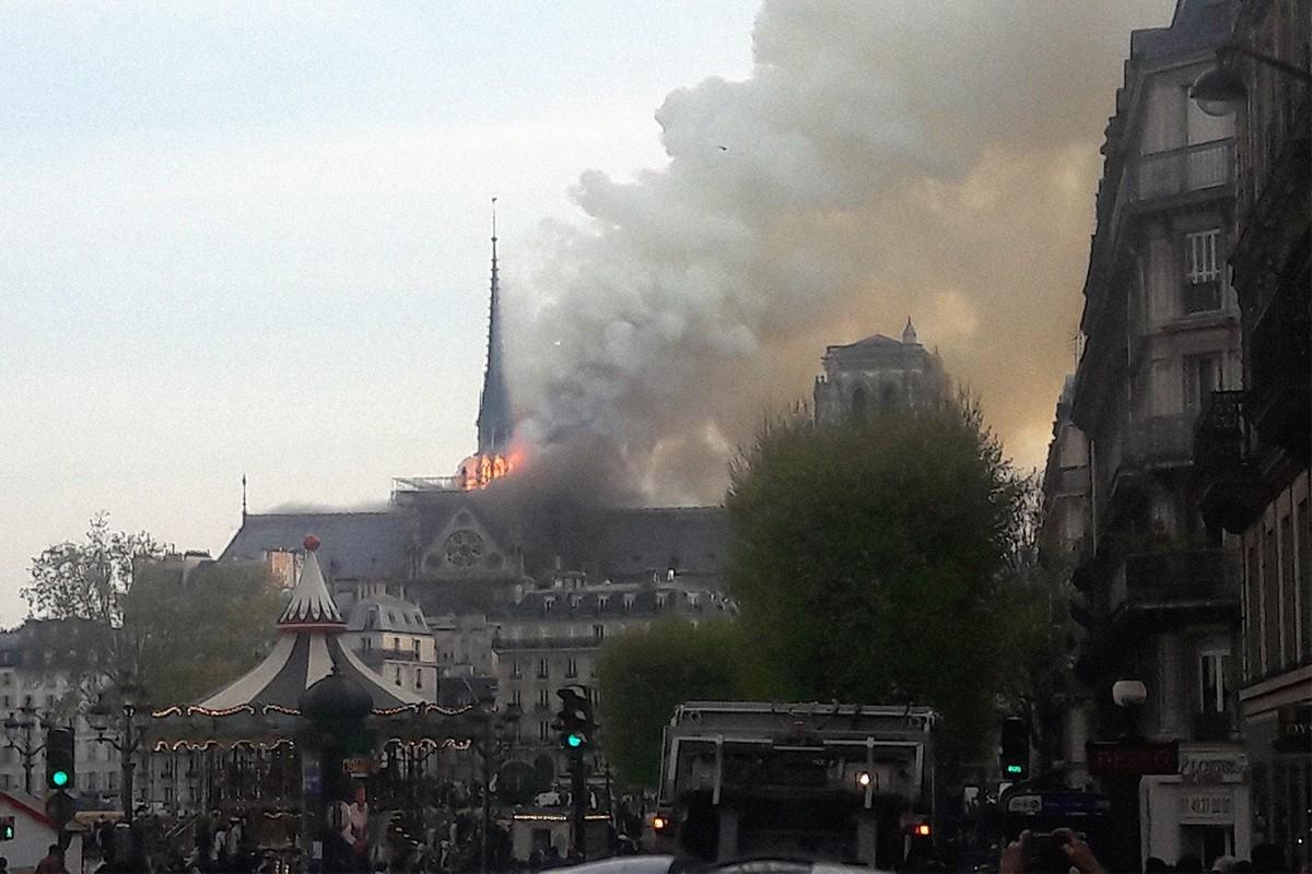 UPDATE: Millions pledged to help rebuild Notre Dame