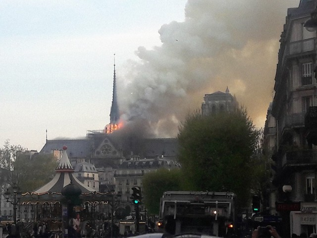 UPDATE: Millions pledged to help rebuild Notre Dame